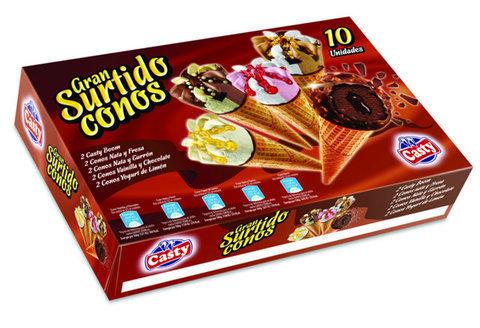 SURTIDO DE CONOS