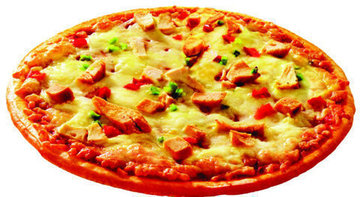 PIZZA DE POLLO REDONDA