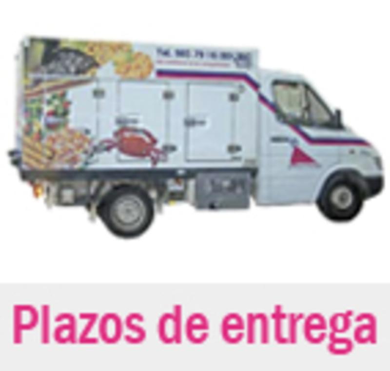 Llamafrio -  Plazos de entrega - LLAMAFRIO - Del tel�fono a su congelador